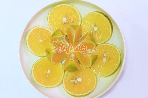 Cam Vinh có vị chua ngọt thơm ngon - Vinfruits