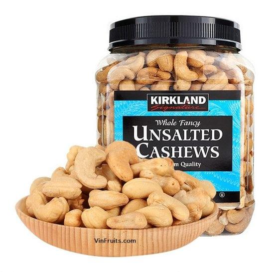 Hat dieu khong muoi Kirkland - vinfruits.com 1