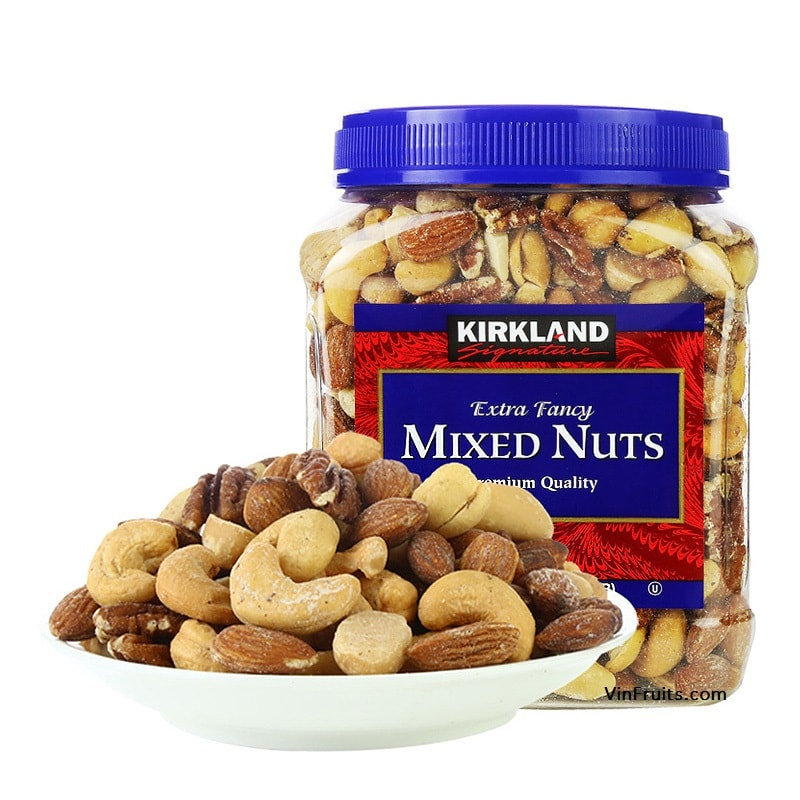 Mixed Nuts Premium Kirkland - vinfruits.com 1
