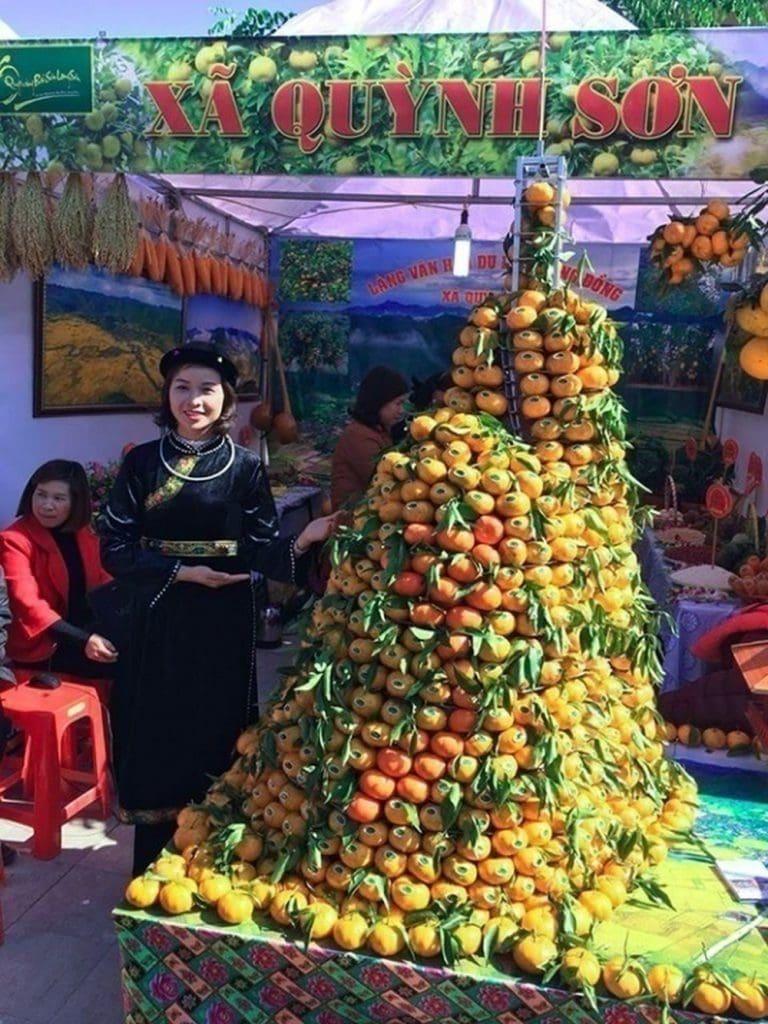 Quýt Bắc Sơn được mời tham dự nhiều triển lãm nông sản - Vinfruits